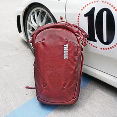THULE Subterra 30L Backpack / Laptop bag [RED] #thule #subterra #backpack #laptop #bag #equipment #travelling #trip #vacation #onthego #ontheroad #vibes #urban #sleek #modern #design #art Design Art, Modern Design, Laptop Bags, Fashion Backpack, Travelling, Backpacks, Urban, Vacation