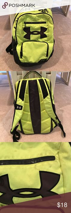 Kids under armour back pack Used. Shows wear. Can be washed. Under Armour Accessories Bags