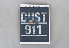 DUST 911 (a self-initiated project). on Editorial Design Served