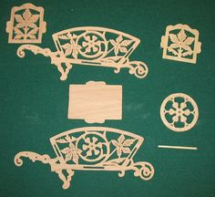 Fretwork Wheelbarrow - The Dale Maley Family Web Site