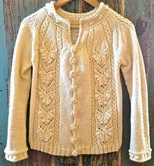 Audrey by Veronika Lindberg ....... perhaps  knit this in a tweedy nutmeg brown