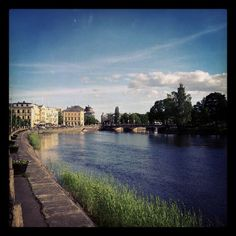 A beautiful city with nice people, that is the place I've lived the most of my life; Karlstad in Sweden