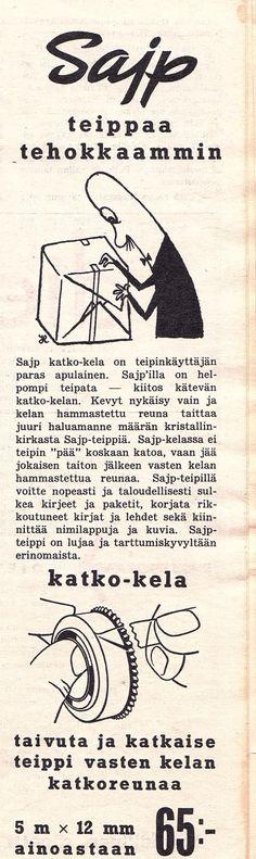 SAIP -teippi Kotiliesi 1960