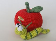 (4) Name: 'Crocheting : William the Worm
