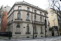 Palacetes de Madrid: PALACIO DEL DUQUE DE PLASENCIA- C/ Montesquinza c/v C/ Jenner  Joaquín Saldaña, 1912  Actual sede bancaria Altae