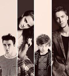 The Potter cast