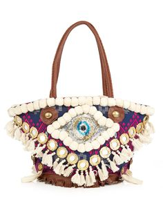 Padma Tuk Tuk embellished tote | Figue | MATCHESFASHION.COM US