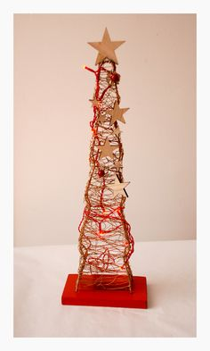 Hand made, desing Christmas tree Christmas Time, Tower, Rook, Towers, Building