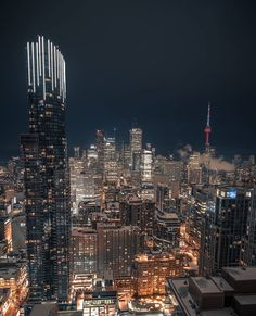 Ideas photography city lights america for 2019 Toronto Skyline, Toronto City, City Lights At Night, Night City, Sky Night, Urban Photography, Landscape Photography, Food Photography, Toronto Photography