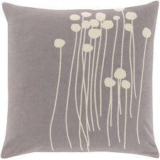 Meadow Cotton Throw Pillow