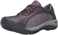 KEEN Womens Presidio Shoe Plum 8 M US * You can get more details by clicking on the image. Bad Knees, Best Walking Shoes, Outdoor Woman, Hiking Shoes, Adidas Sneakers, Lace Up, Boots, Womens Fashion, Leather