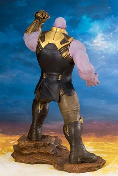 Action figure BUSTO MARVEL Thanos Avengers Infinity war statua 3D