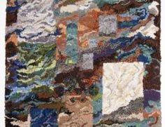 Deanne Fitzpatrick hooked rug.