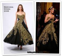 Blair Waldorf Marchesa Prom dress