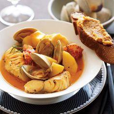 Bouillabaisse // More Great Seafood Recipes: http://www.foodandwine.com/slideshows/sustainable-seafood #foodandwine