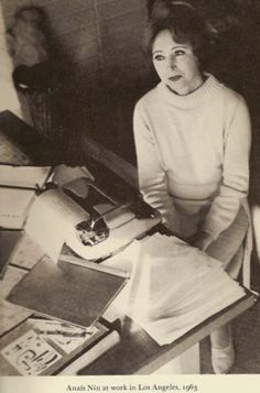 Anaïs Nin: The World's First Blogger?