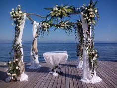 flower Arch for Wedding Wedding Videos, Post Wedding, Wedding Arches, Wedding Flowers, Start Tv, Corfu Holidays, Wedding Window, Flower Decorations, Table Decorations