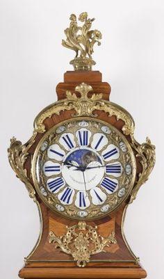 Horlogerie Horloge de Parquet - Régulateur d'époque Louis XV, estampillé Antoine Foullet