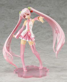 "sakura miku figure | ""Figure Japan"" that attached with rare figure ""Sakura Miku ..."