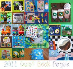 20 quiet book patterns