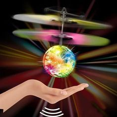 New Arrival Kids Flying RC Ball Flashing Light Infrared Induction Mini Aircraft Helicopter Children Toy wholesale //Price: $11.70      #sale