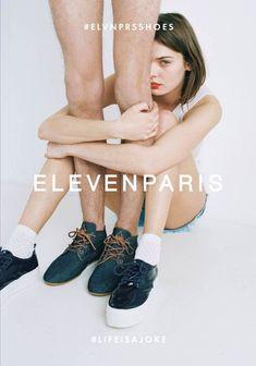 Eleven Paris Fashion Ad Campaign • Minimal. / Visual.