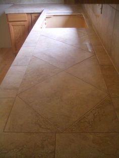 porcelain tile backsplash gallery | Ceramic Tile Kitchen Countertops and Backsplash
