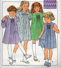 Vintage Sewing Pattern / Style 3264 / child's dress sewing
