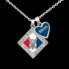 Custom Relationship Eagle Scouts Necklace - Charming Collectables