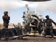 Heavy Artillery Military