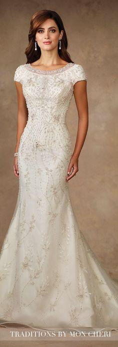 Wedding Dress - Traditions by Mon Cheri 2017
