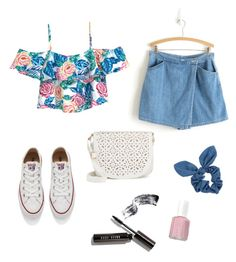 """""""Sweety!"""" by marmai14 on Polyvore featuring moda, Converse, Under One Sky, Dorothy Perkins, Bobbi Brown Cosmetics y Essie"""