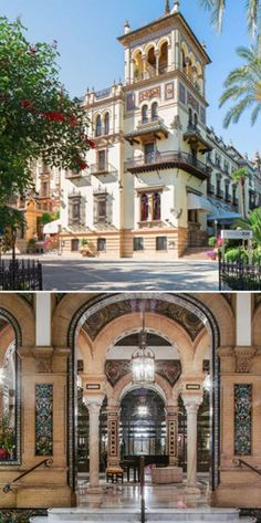 The Alfonso XIII, a Luxury Collection Hotel, Seville, Spain - This is one of Spain's iconic hotels, a grande dame, which was recently restored to its former glory. It's stunning, simply stunning.