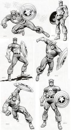 Captain America // Mike Zeck