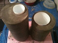 Homemade Cement Planters | Concrete Planters w/ Shannon | Flickr - Photo Sharing!