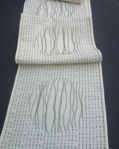 woven shibori technique