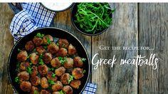 Hill Street Grocer, Latrobe: Greek meatballs ~ Free-from hassel Greek Meatballs, Tasmania, Chana Masala, Recipies, Street, Ethnic Recipes, Food, Recipes, Essen