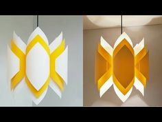 DIY paper lamp/lantern/how to make a pendant light out of paper/paper craft/art . DIY paper lamp/l Diwali Lantern, Diwali Lamps, Diwali Diy, Diwali Craft, Chinese Lanterns, Diy Diwali Decorations, Paper Decorations, Diy Paper Lanterns, Lantern Diy