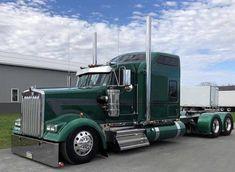 Same color as my old but mine didn't have the Studio Sleeper. Big Rig Trucks, Semi Trucks, Cool Trucks, Kenworth Trucks, Chevy Trucks, Peterbilt 389, Custom Big Rigs, Custom Trucks, Trailers