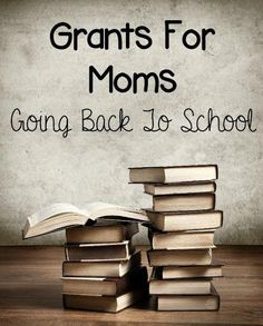 Grants For Moms Going Back To School: FAFSA OR PELL GRANT: The most widely known and used grant is provided by the government for students within select income guidelines. This grant does require a student be enrolled a select number of hours per year an College Mom, Grants For College, Going Back To College, Financial Aid For College, Back To School Hacks, Online College, Scholarships For College, Education College, College Students