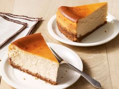 Maple-Walnut Cheesecake Recipe : Food Network Kitchen : Food Network - FoodNetwork.com