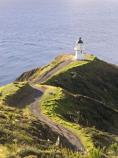 Cape Reinga lighthouse - Northland, North Island, New Zealand] Beautiful Places To Visit, Oh The Places You'll Go, Places To Travel, Travel Destinations, North Island New Zealand, New Zealand Landscape, Holiday Places, New Zealand Travel, France