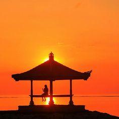 Sunrise at Sanur, Bali, Indonesia