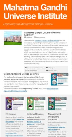 #College #MahatmaGandhiUniverseInstitute offers #BTECH Programmes, bachelor Technology is one of the field that has huge opportunities all over the world. B.tech in Civil Engineering, Electronics, Mechanical,Computer Science and more specialization are offered here .Also there are higher studies options after B. tech. Duration is 4 years. For more information B.tech Courses Visit Online: www.ddit-mgui.com