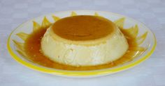 Set custard dessert with a soft caramel topping that is served cold and with a wobble. This Dairy-free and Paleo recipe is made with almond milk and honey. Custard Desserts, Cold Desserts, Pudding Desserts, Healthy Desserts, Baked Egg Custard, Baked Eggs, Flan, Creme Caramel, Paleo Recipes