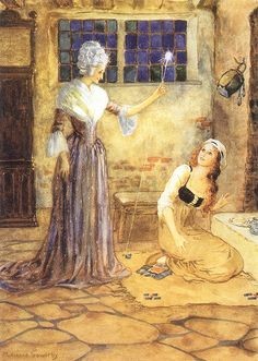 Illustration by Millicent Sowerby (Cinderella) by sofi01, via Flickr