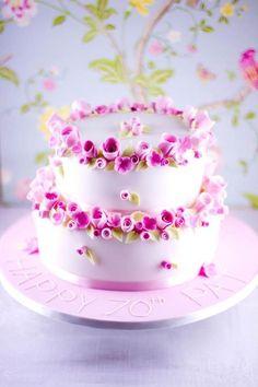 Beautiful flowers cakes