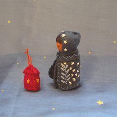 Lantern Child for Martinmas in November