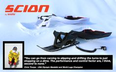 NEW SCION RELEASE FEBRUARY » Snolo Sleds - High Performance Alpine Sleds