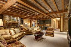 unique basement ceilings